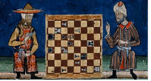 Libro de los juegos de Alphonso X el savio, 1262-1283 ca. Public Domain
