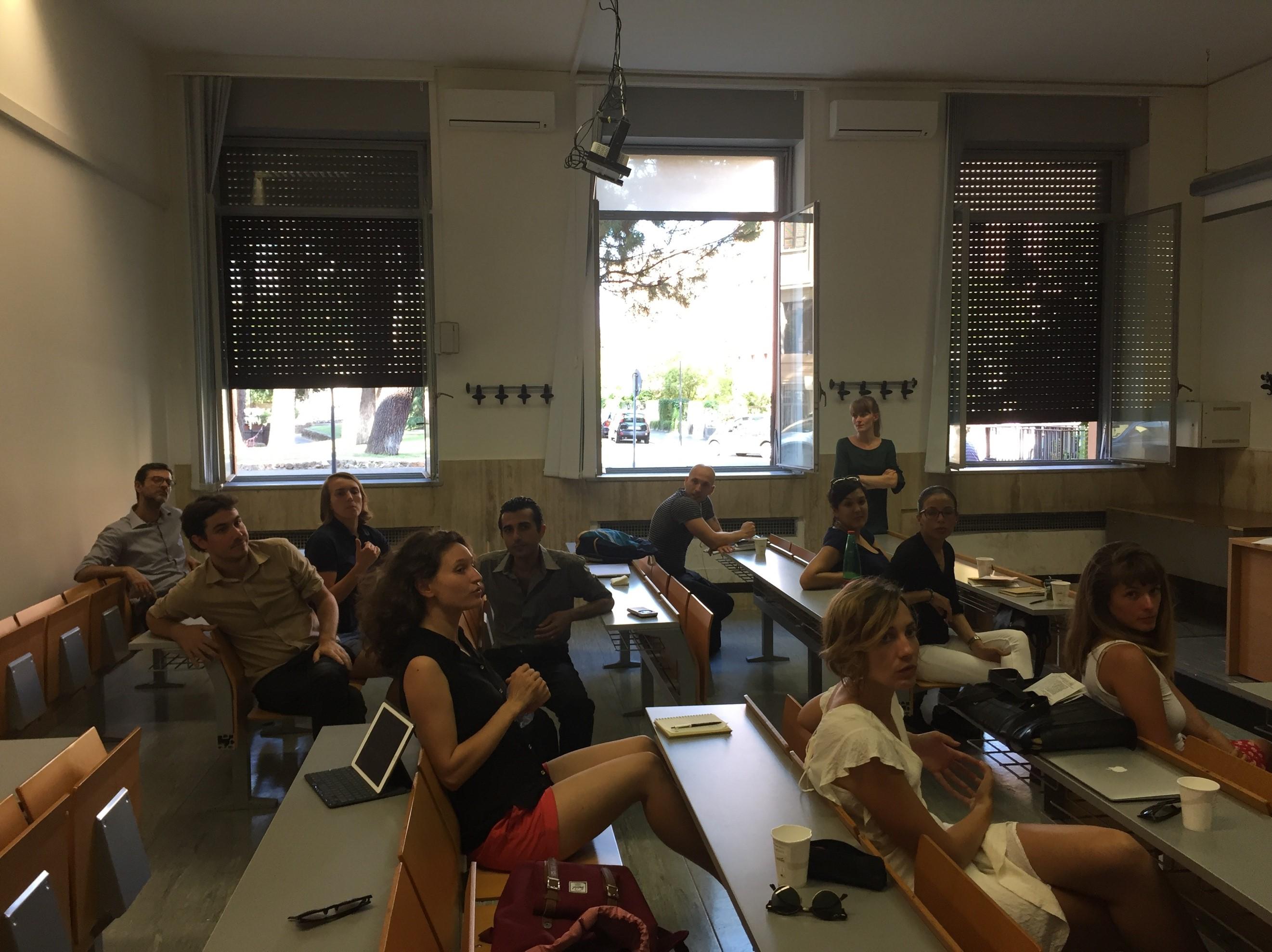 L'après-midi de réflexion des doctorants (crédits photographiques : Céline Regnard, TELEMMe, AMU-CNRS)